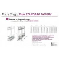 CARGO Z REG. 3D 30 II POZIOMY W-2321M-300-P1 BIAŁY