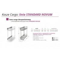 CARGO Z REG. 3D 15 II POZIOMY W2323-150-G2 CHROM