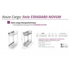 CARGO Z REG. 3D 20 II POZIOMY W2323-200-G2 CHROM